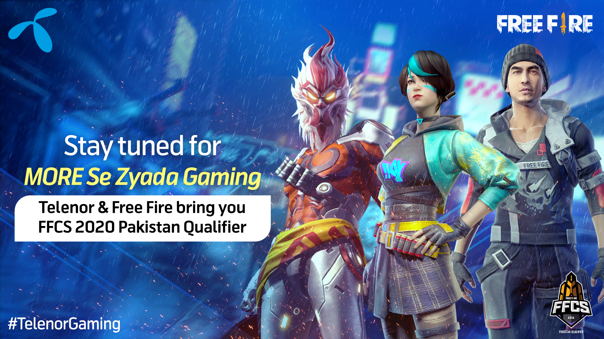 Photo of Telenor Pakistan Collaborates with Garena Free Fire to Explore Gaming Talent in Pakistan