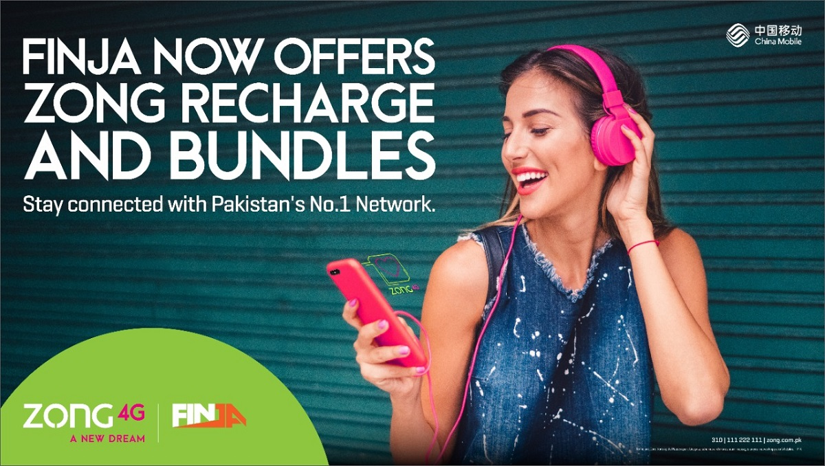 Photo of Zong4G Customers Can now Reload and Apply Data Bundles From Finja app