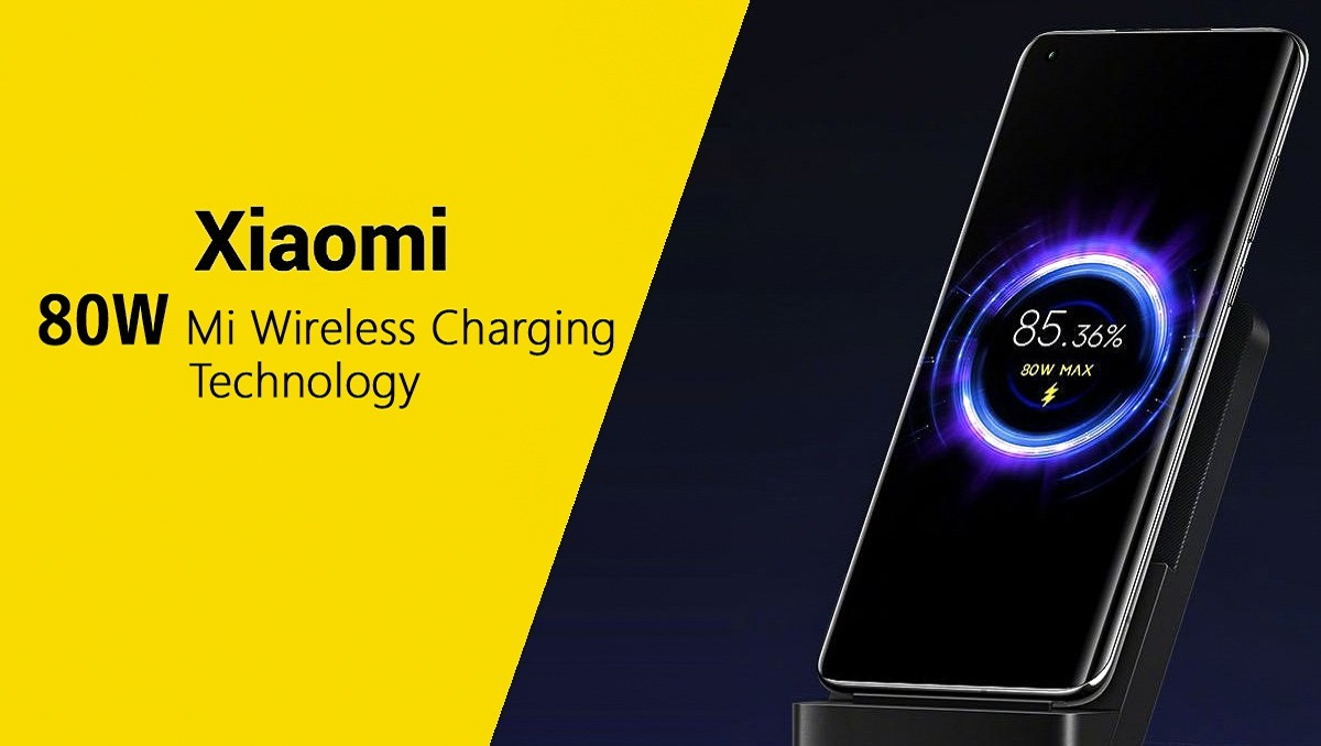 Xiaomi Announces 80W Wireless Charger
