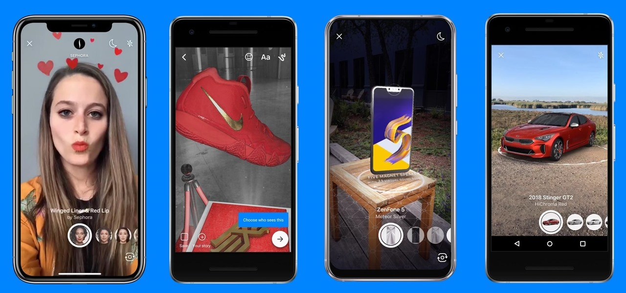 Facebook Messenger Introduces Engaging AR Experiences to Bring Virtual Halloween Fun
