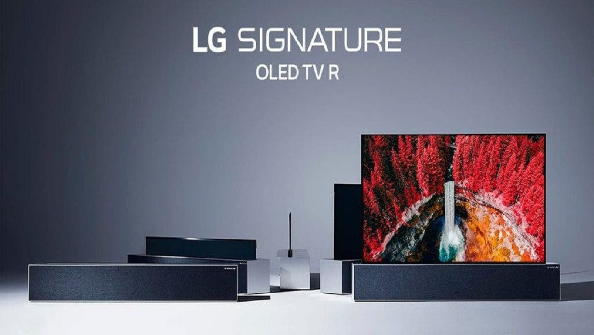 Photo of LG's Amazing Rollable OLED TV is Out for Sale at $87,000