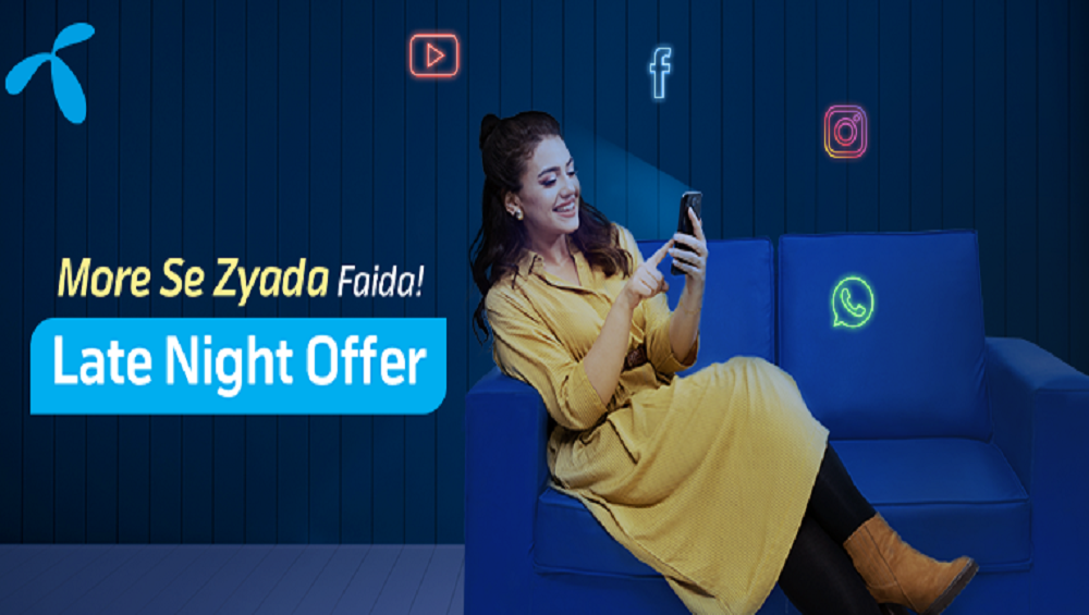 Get More with Telenor 4G Weekly Late Night Offer