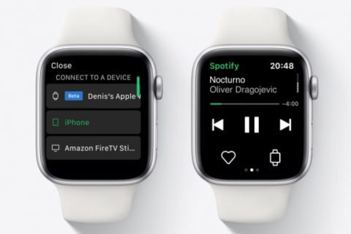 Spotify Tests Apple Watch streaming without any iPhone