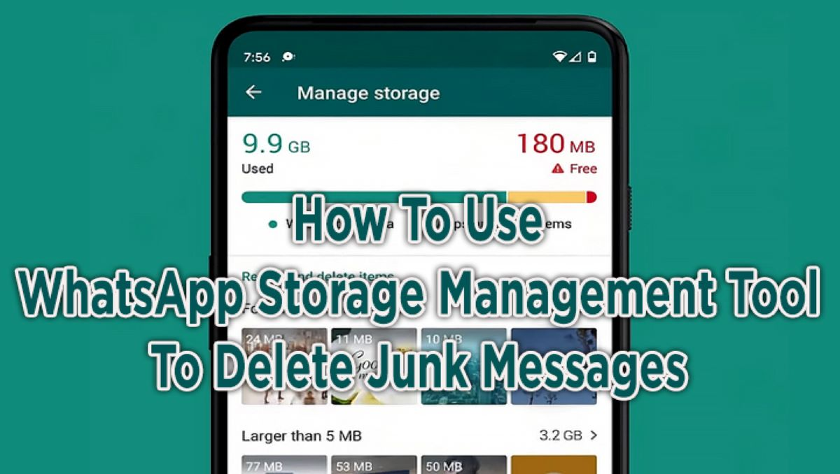 Photo of How to use Storage Management Feature in WhatsApp on Android?