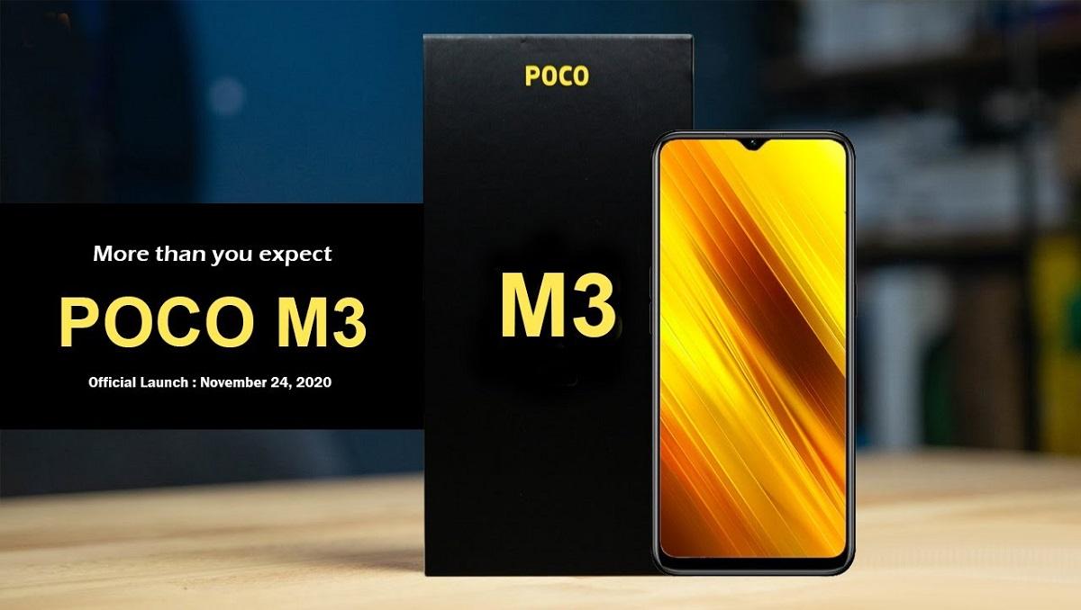 Poco M3 Key Specs
