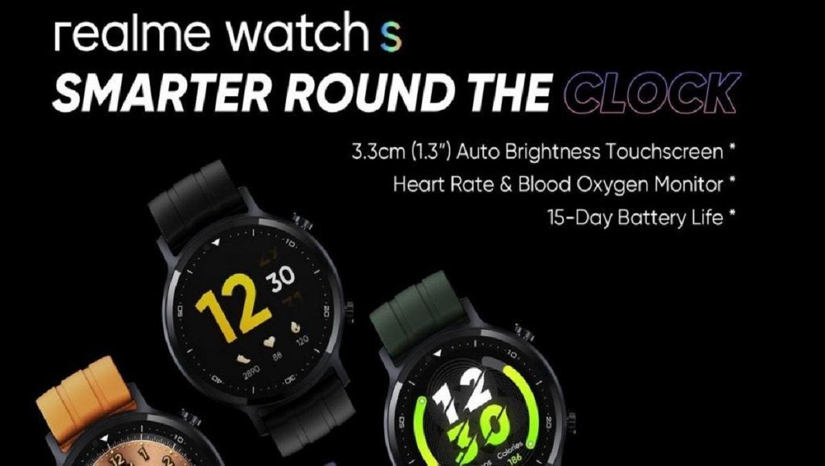 Realme Watch S Round Shape.
