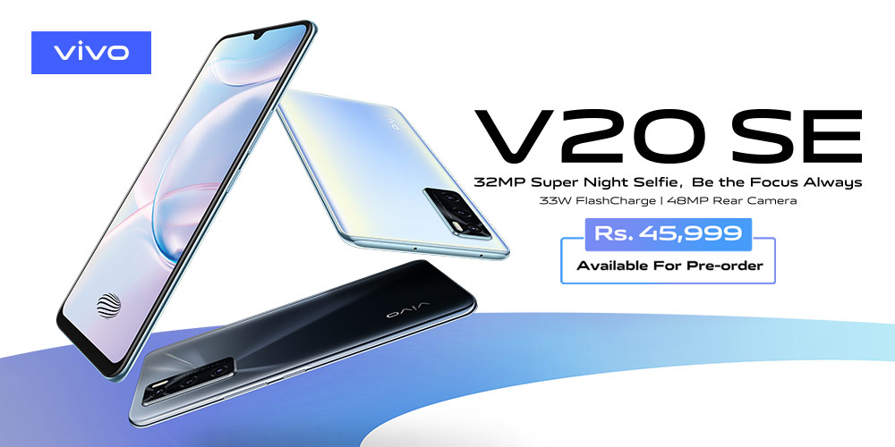 Photo of vivo Launches V20 SE in Pakistan, Premium Smartphone with Best-in-Class Camera Capabilities
