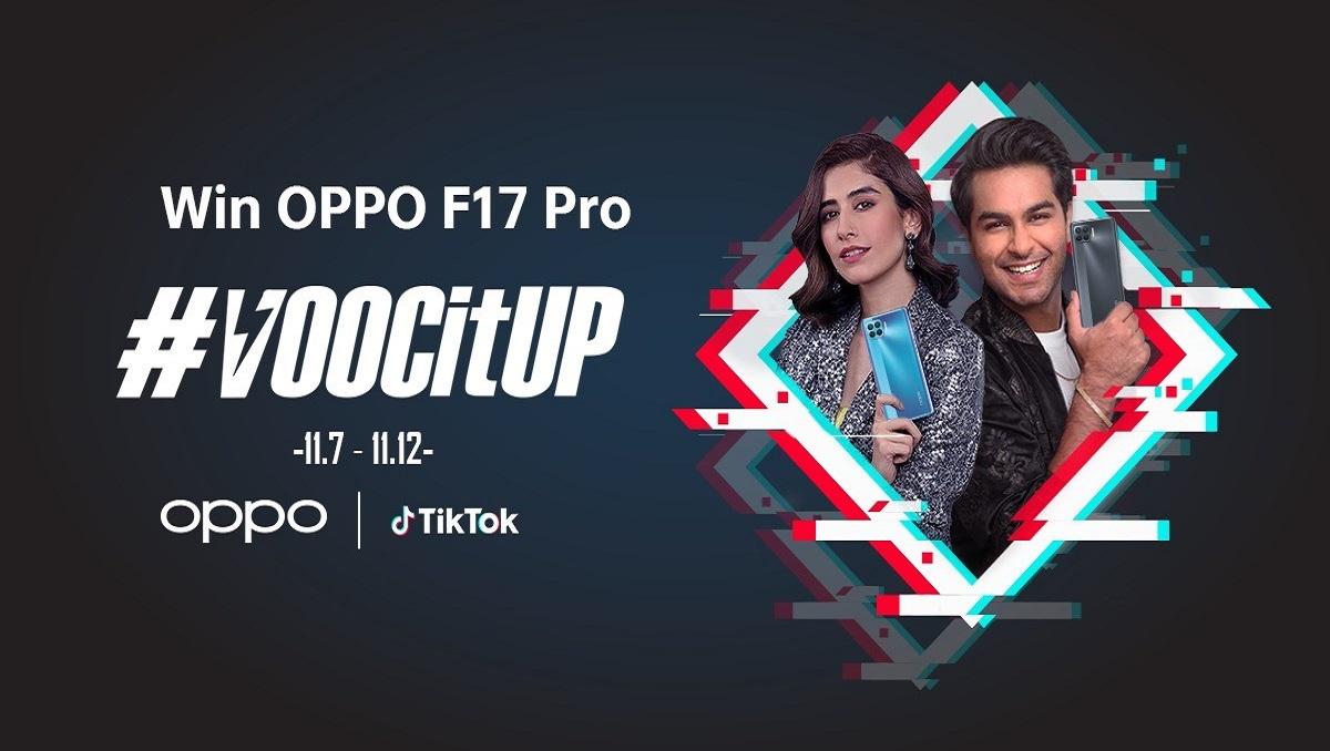 OPPO F17 Pro TikTok Challenge