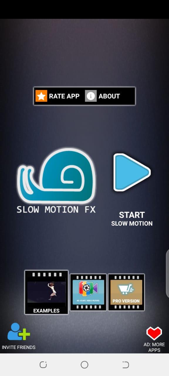 slow-motion app