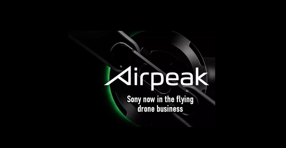 Sony to launch its first-ever Drone camera called Airpeak