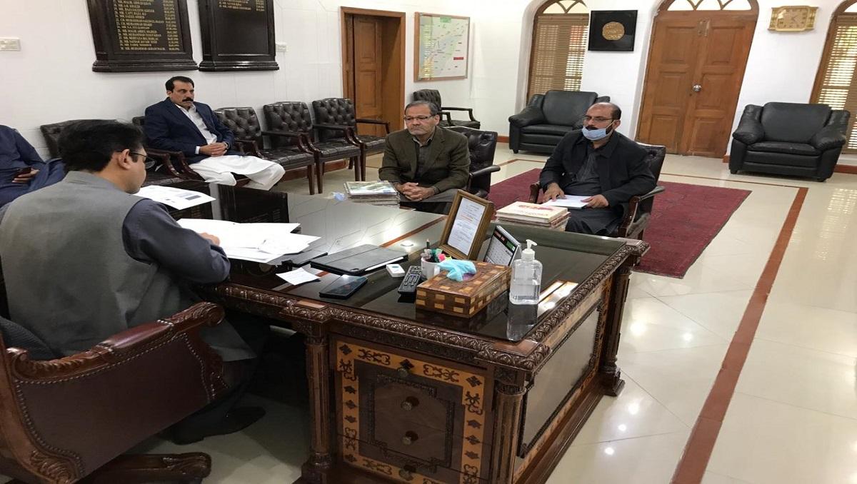 DC Bahawalpur calls on PSIC Director C&CI Yawar Mehdi