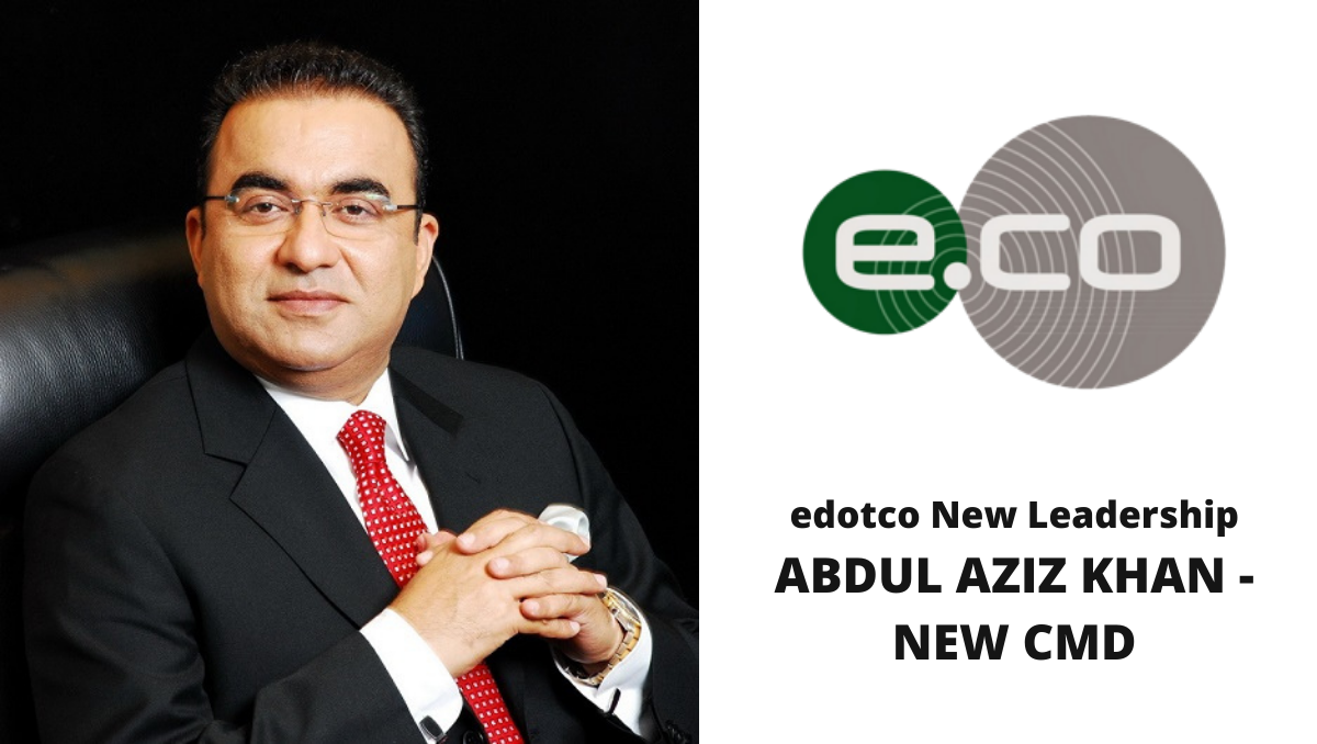 Photo of edotco strengthens commitment in Pakistan with new leadership