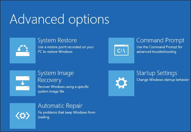 Fix Windows 10 Error Code 0xc00000e
