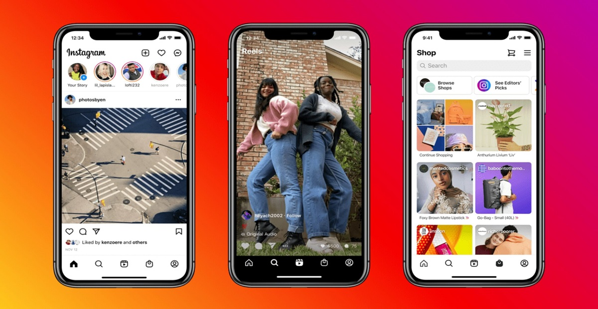 Instagram Introduces new Update with Fantastic features including Shop & Reels