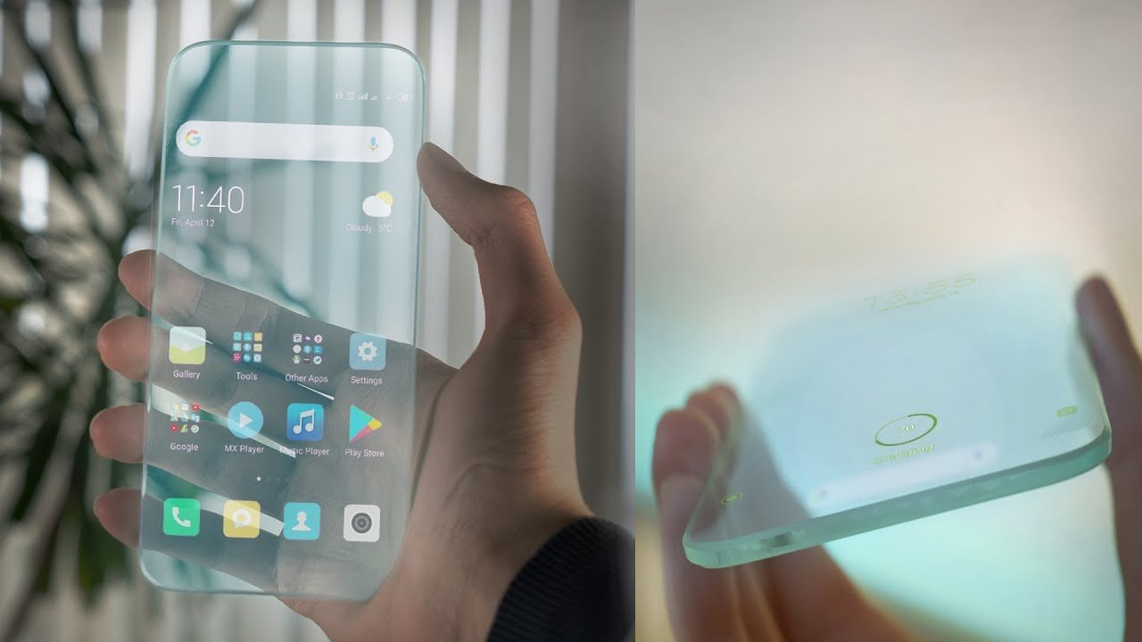 Photo of Galaxy transparent smartphone patent leaked and WOW?