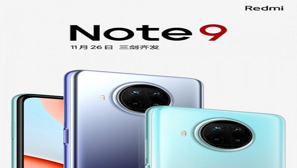 Redmi Note 9 Series to Hit China on November 26
