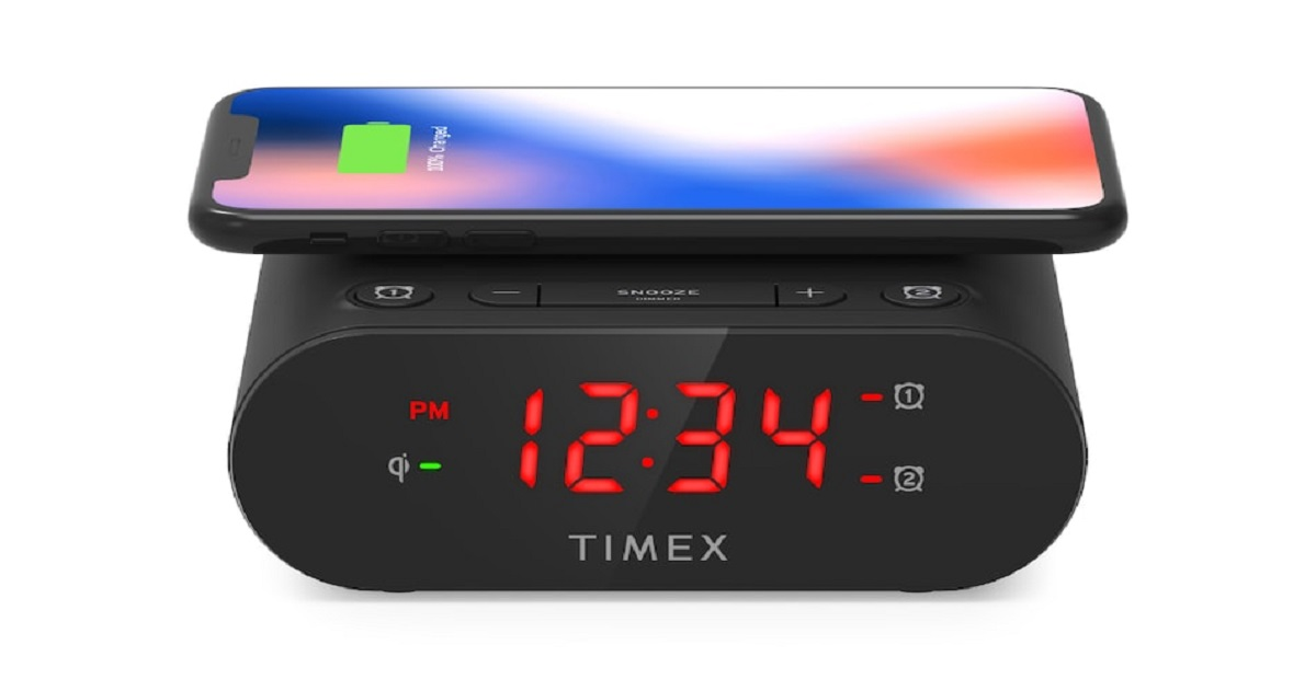 Photo of Now Charge your Mobile Wirelessly with Timex Alarm Clock