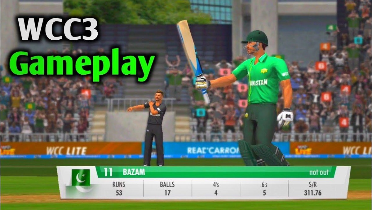 World Cricket Championship 3 Goes Live