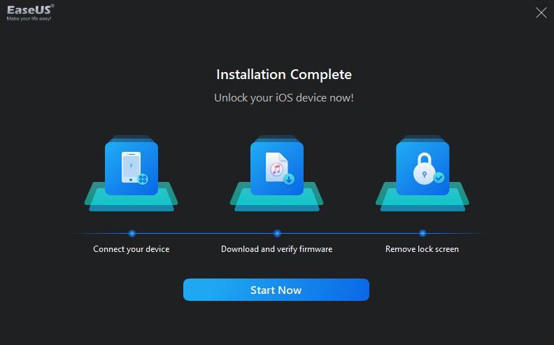 iPhone unlocker app without passcode Installation