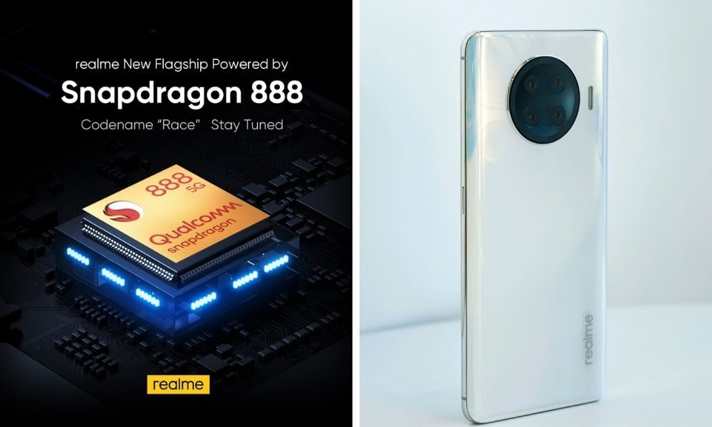 "Photo of REALME ""RACE"" COMING UP WITH POWERFUL AND FAST SPEED QUALCOMM SNAPDRAGON 888 FLAGSHIP MOBILE PLATFORM"
