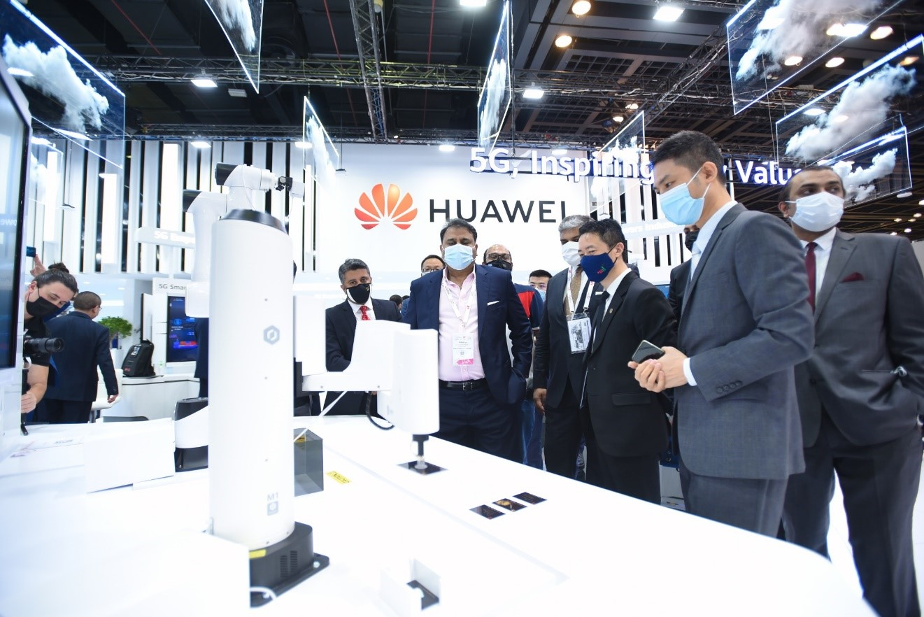 Photo of Federal Minister of Science & Technology visits GITEX Technology Week 2020