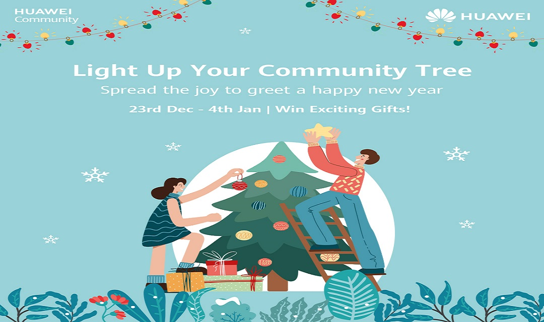 "Photo of Join Huawei's ""Light up Your Community Tree"" Activity to Celebrate New Years"
