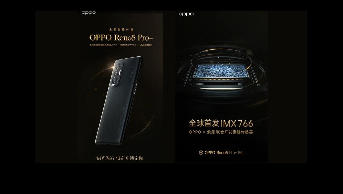 Photo of OPPO Reno5 Pro+ Confirmed to Come with 50MP Sony IMX766 Sensor