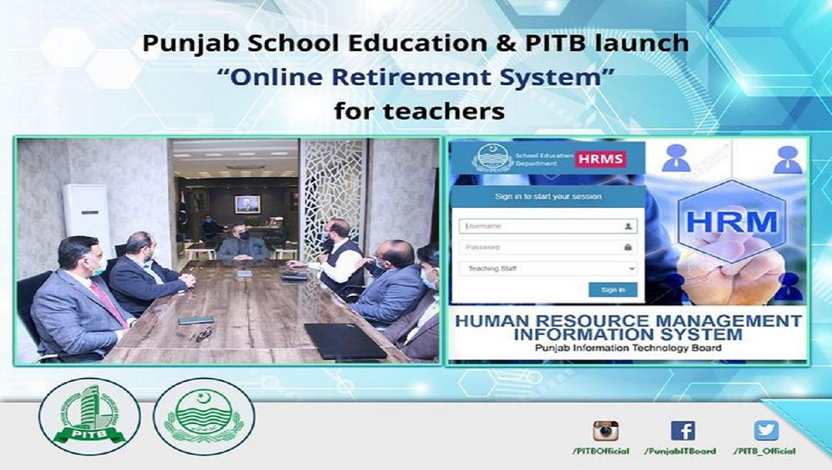 Online Retirement System for Teachers