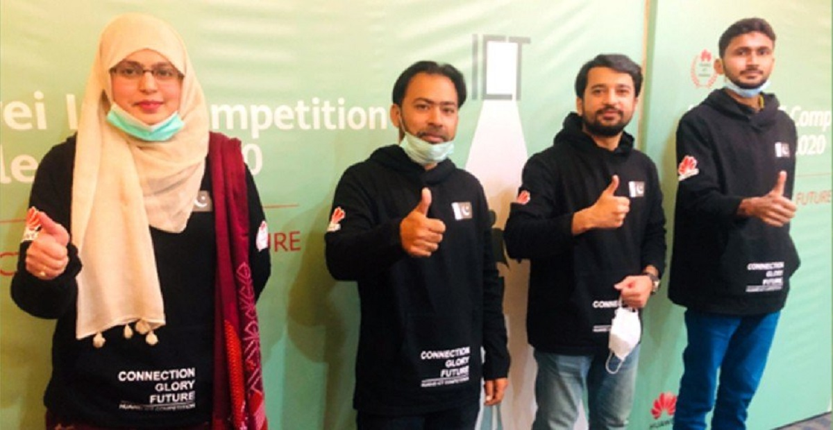 Pakistani Students Won Two Prizes at Huawei ICT Competition