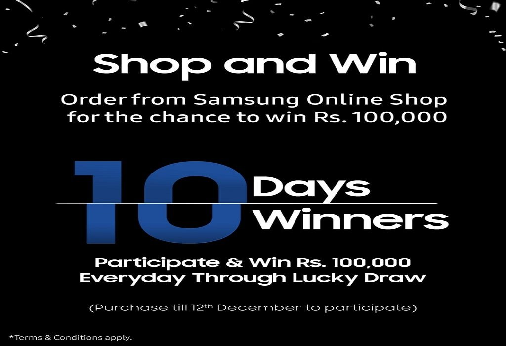 Photo of Samsung Pakistan's eStore gives you the chance to win big!