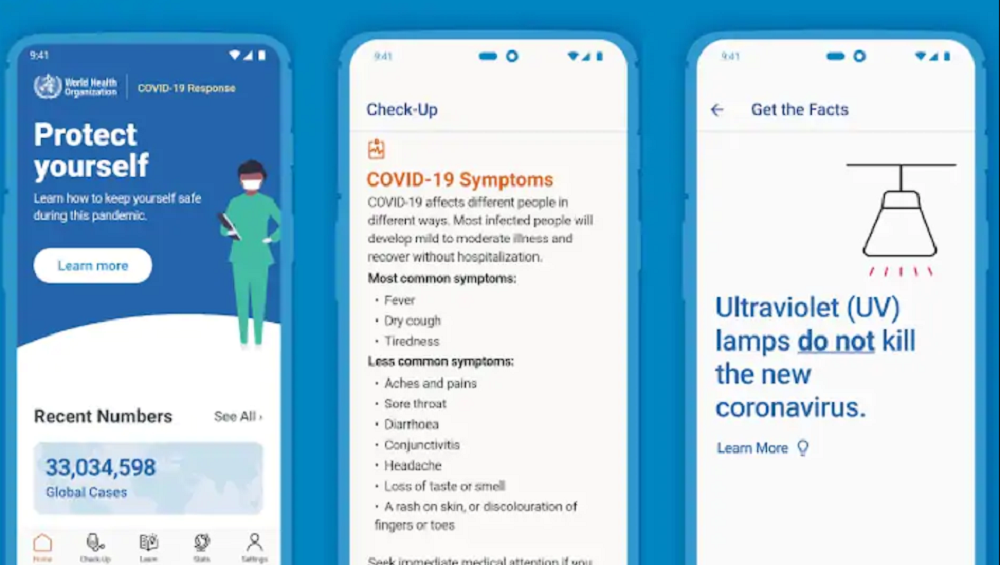 WHO Introduces Mobile App for COVID-19 Updates