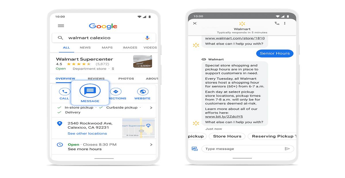 Photo of Google Maps & Search Gets Messaging Feature to Connect Customers with Businesses