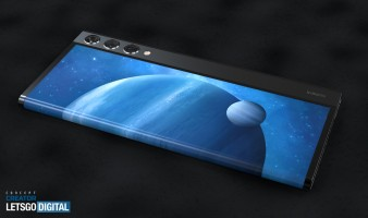 Jermaine Smit (aka Concept Creator) used the patent sketches to create a set of renders which better illustrate the concept device. We can see the device comes with a wraparound screen similar to the Mi Mix Alpha concept phone.
