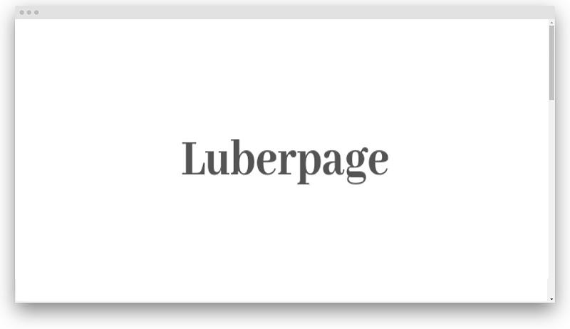 luberpage