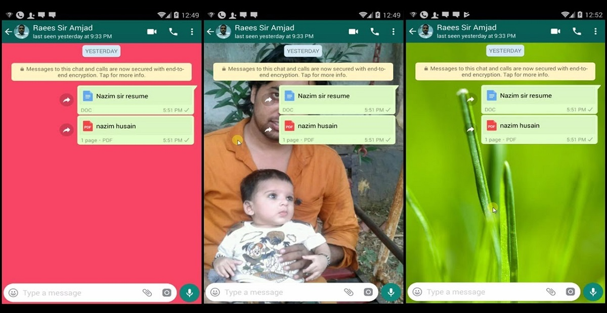 WhatsApp Lets you Assign Separate Wallpapers for Different Friends