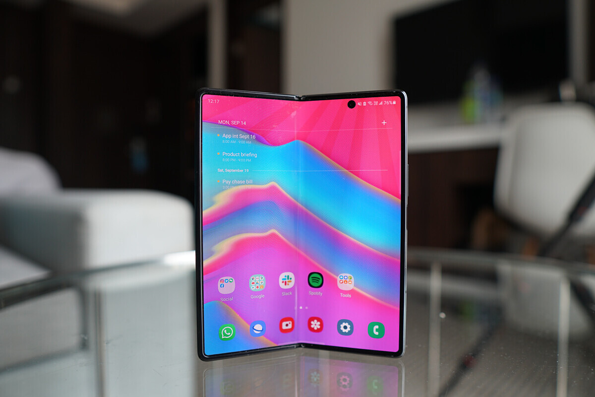Photo of Update: Galaxy fold to receive Android 11
