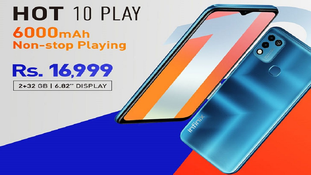 Photo of Infinix Hot 10 Play is Now Available in Pakistan