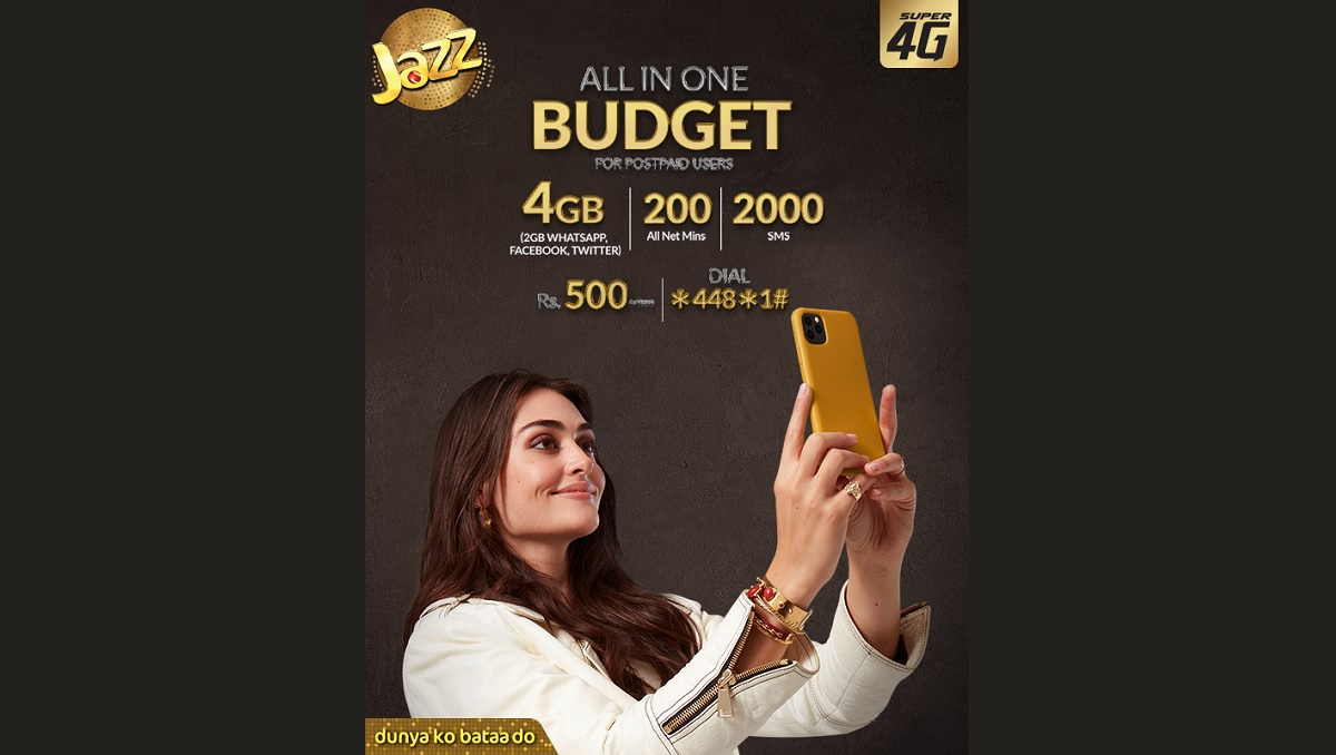 Photo of Check Out All in One Budget Offer for Jazz Postpaid Users