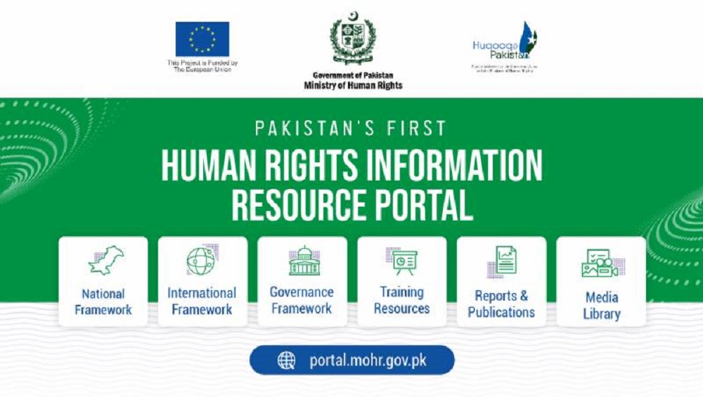 Ministry of Human Rights Launches Pakistan's First Human Rights Resource Portal