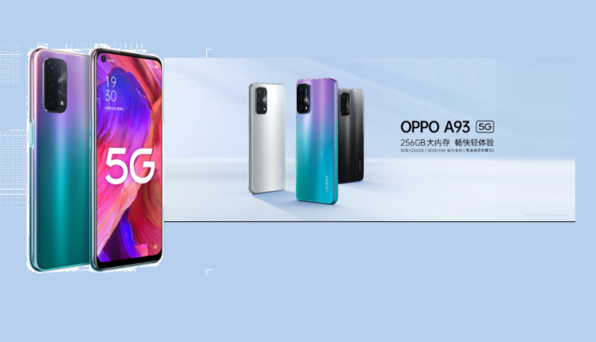 Photo of OPPO A93 5G Arrived with 48MP Triple Cameras Setup