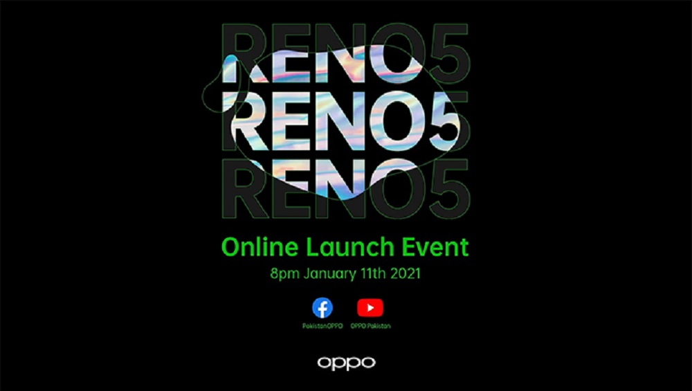 Oppo Reno 5 is Launching Today in Pakistan