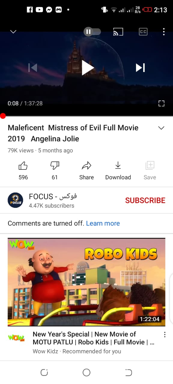 download movies from Youtube