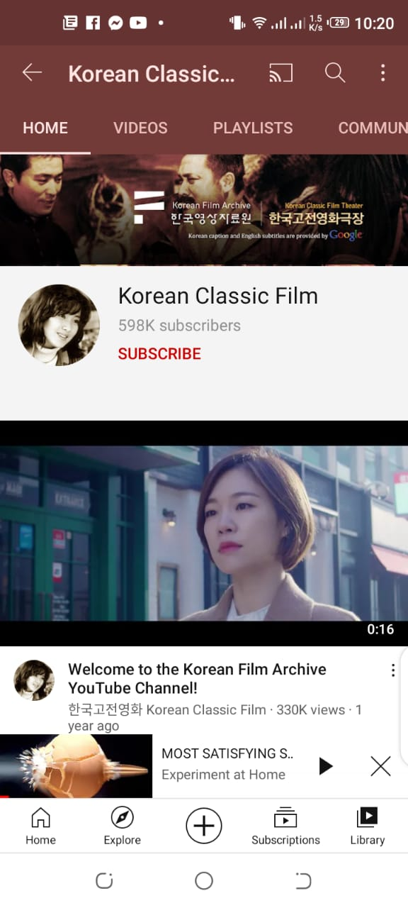 Download movies from Korean classic film