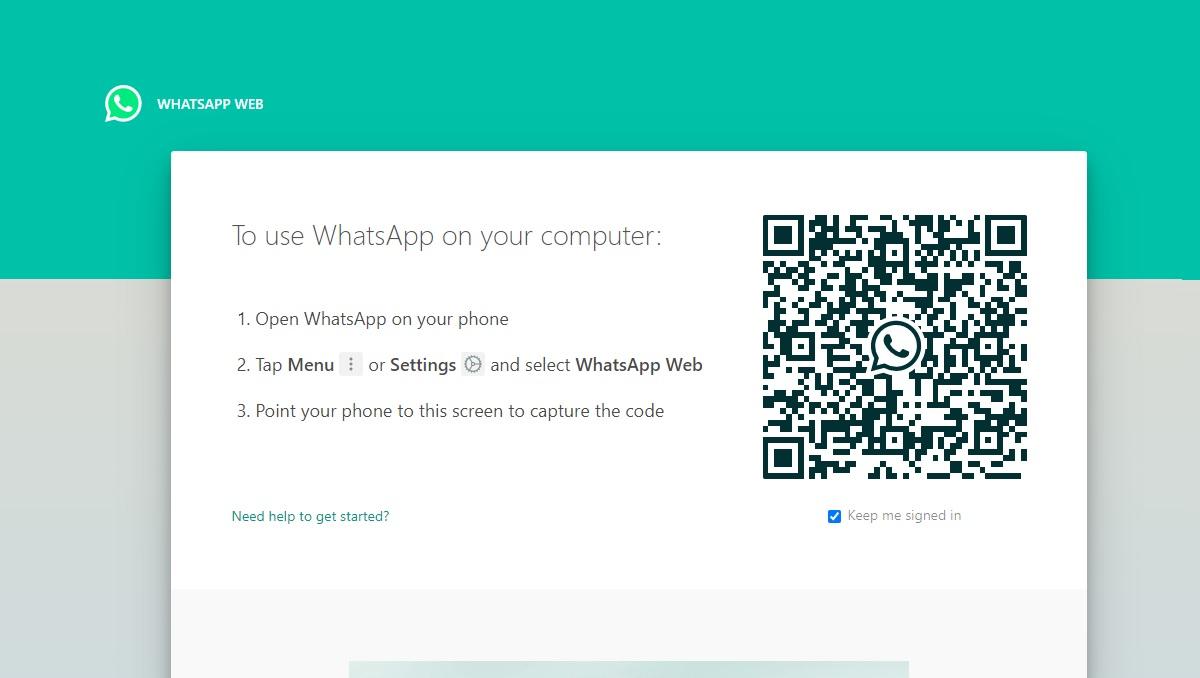 WhatsApp Web Biometric Authentication
