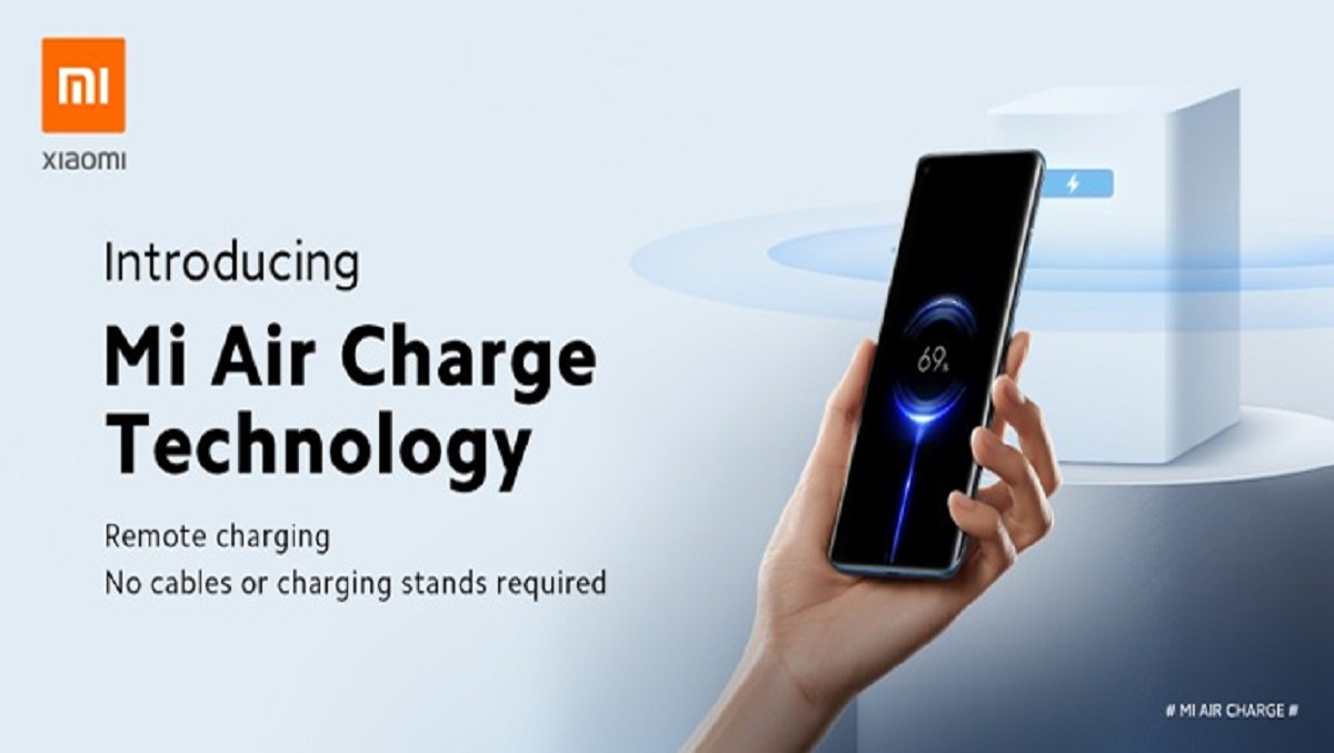 "Wireless Charging Technology Introduced by Xiaomi as ""Mi Air Charge"" -"