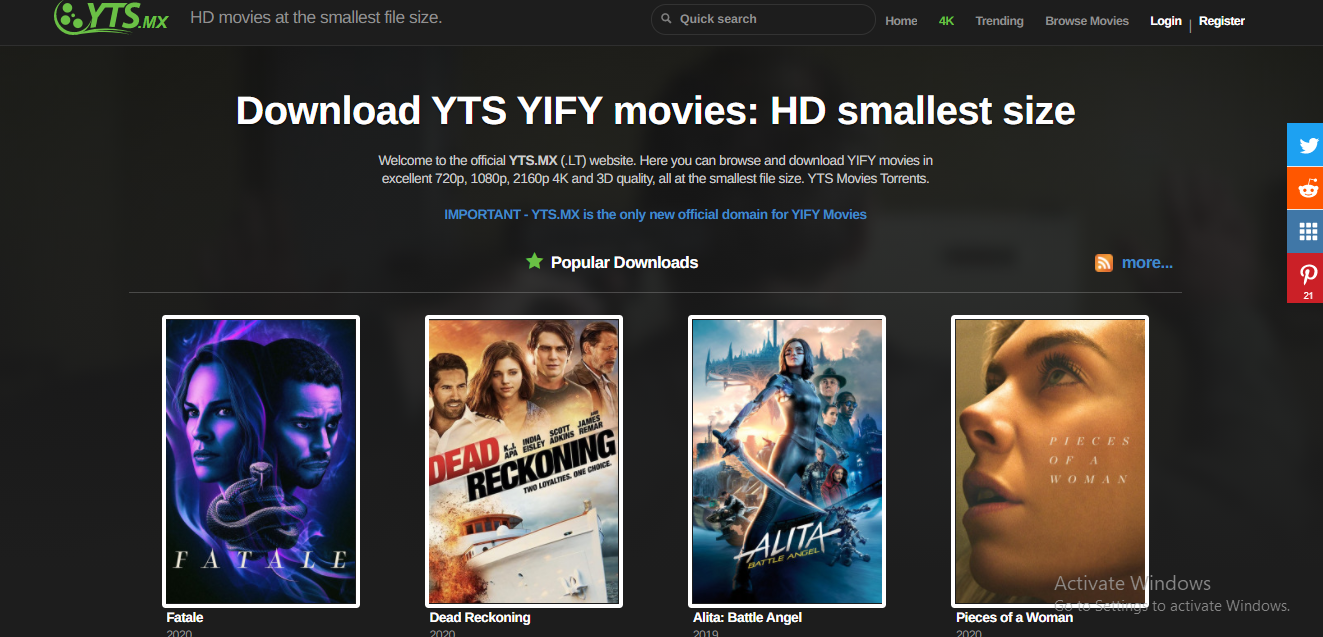 how to download movies from yts?