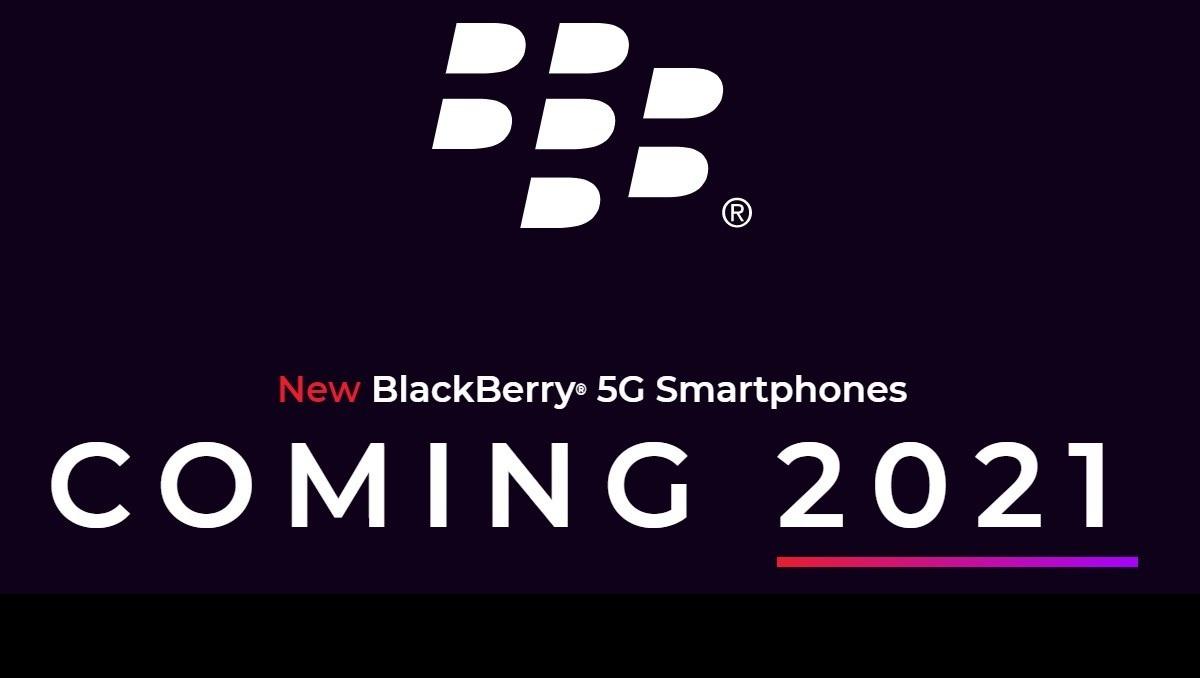 5G BlackBerry Phones