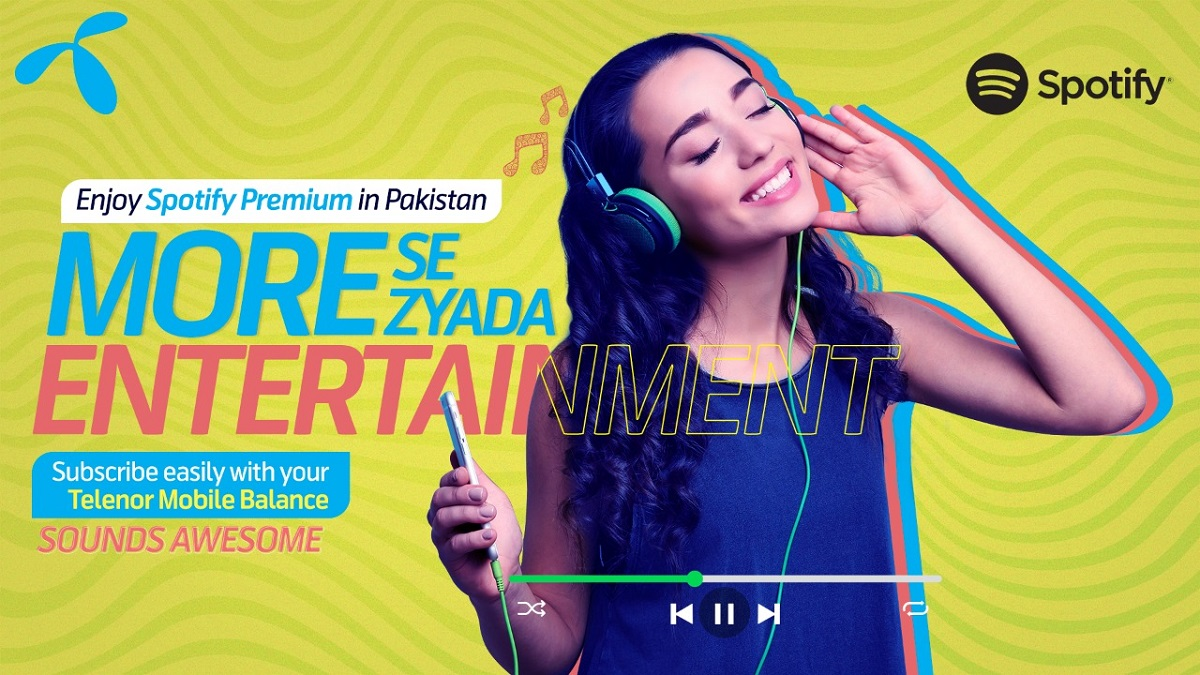 Photo of Telenor Pakistan partners with Spotify