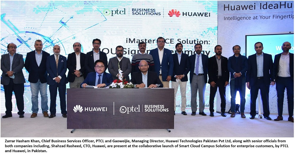Photo of PTCL, Huawei launch Smart Cloud Campus Solution for enterprise customers
