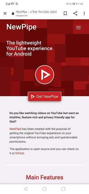 play youtube with screen off on android